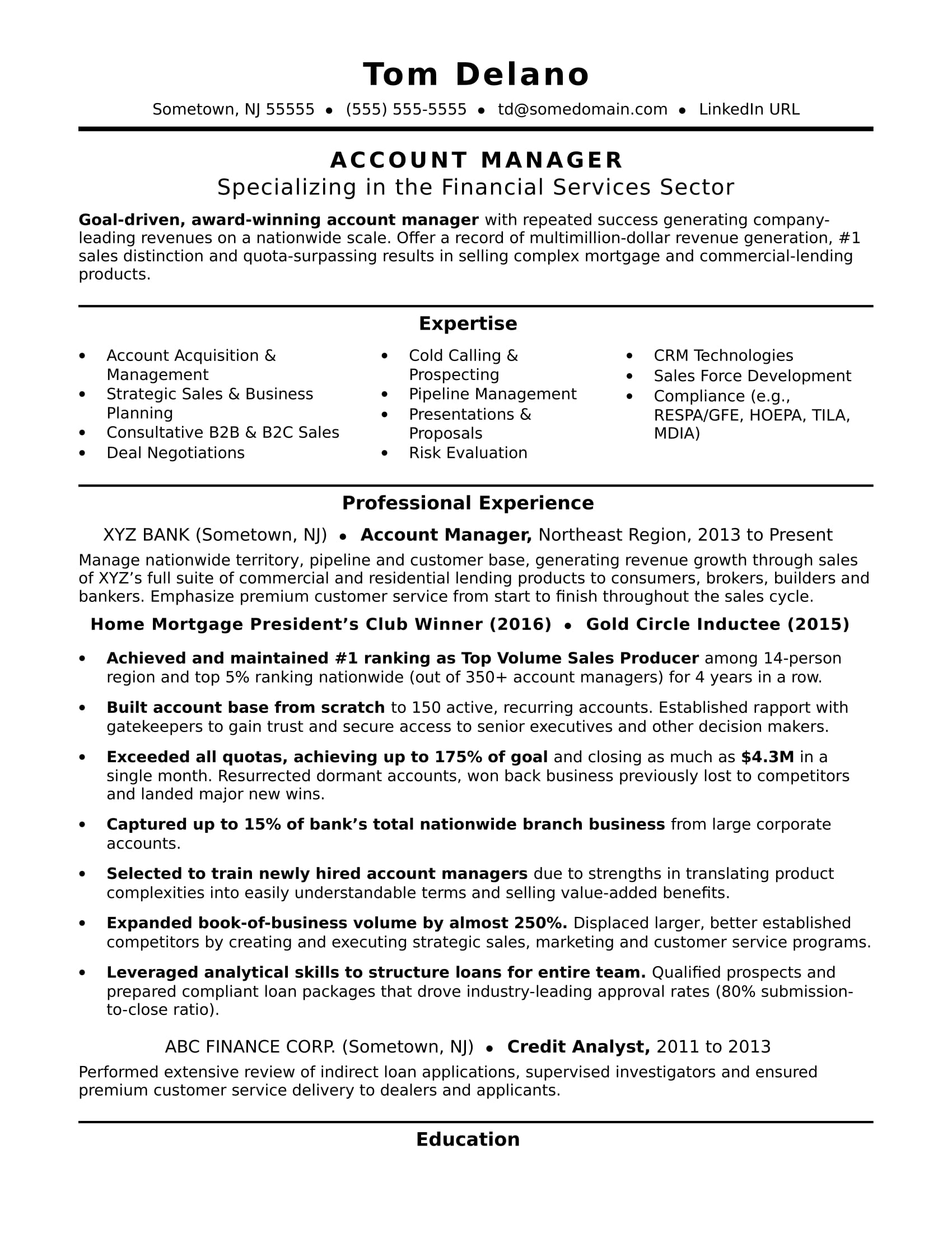 account manager resume sample monster management examples consultation services technical Resume Management Resume Examples 2016