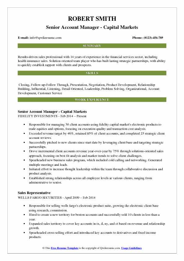 account manager resume samples qwikresume fidelity investments pdf software quality Resume Fidelity Investments Resume
