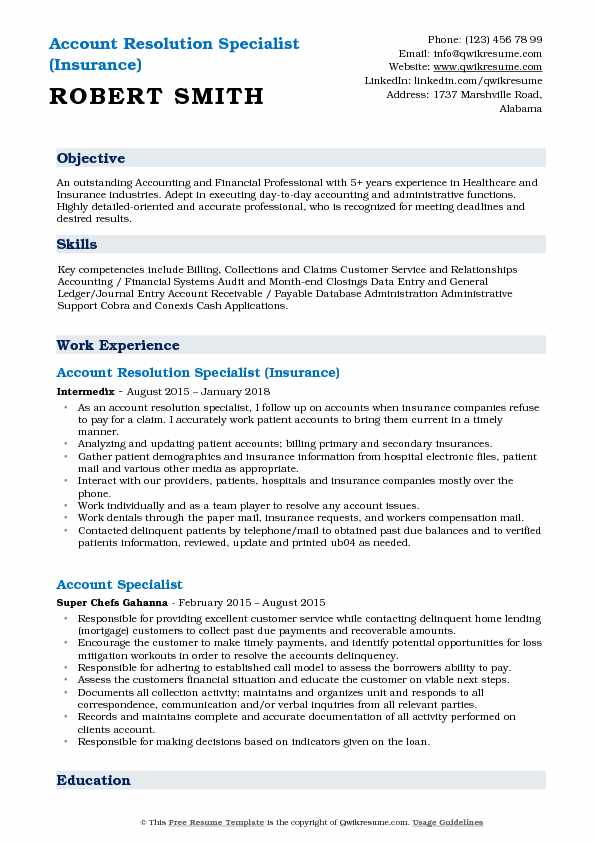 account resolution specialist resume samples qwikresume conflict sample pdf professional Resume Conflict Resolution Resume Sample