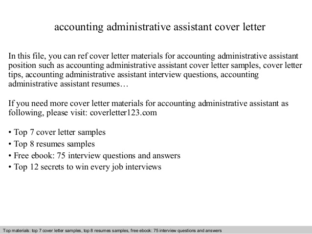 accounting administrative assistant cover letter resume writing services vancouver bsn Resume Accounting Administrative Assistant Resume
