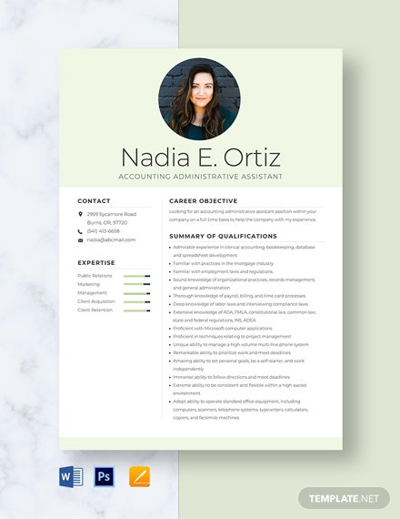 accounting administrative assistant resume template word apple mac writing services Resume Accounting Administrative Assistant Resume