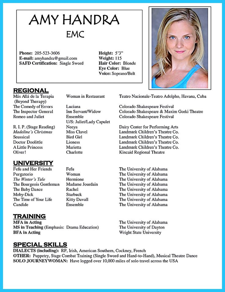 actor headshots resume headshot and sample chemistry tutor social work templates free Resume Headshot And Resume Sample