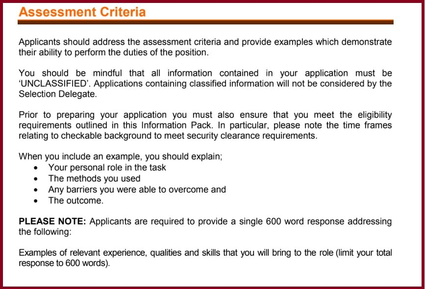 adelaide resume writing service selection criteria examples word response to best format Resume Resume Selection Criteria Examples