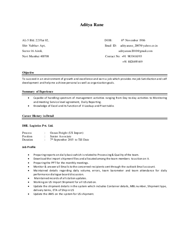 aditya resume bld customer service talent management examples for little work experience Resume Bld Resume Customer Service