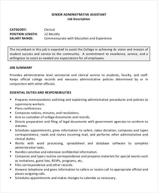 administrative assistant duties resume cool and elegant kid health articles job examples Resume Administrative Assistant Resume Responsibilities