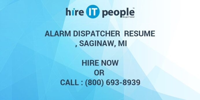 alarm dispatcher resume mi hire it people we get done assistant property manager summary Resume Alarm Dispatcher Resume