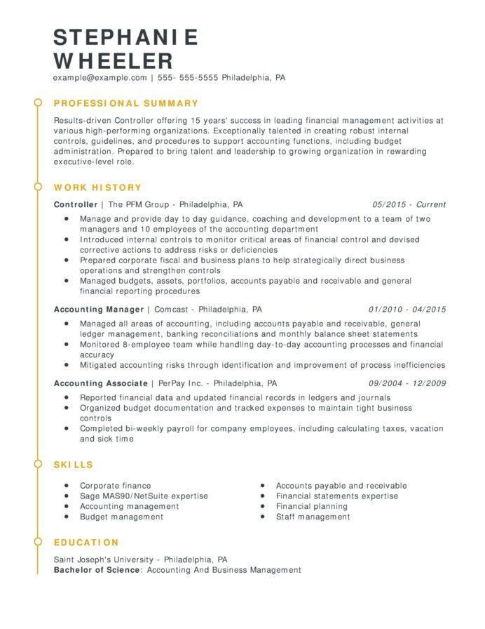 amazing finance resume examples livecareer strong controller esteemed chrono scaled wet Resume Livecareer Free Resume Templates