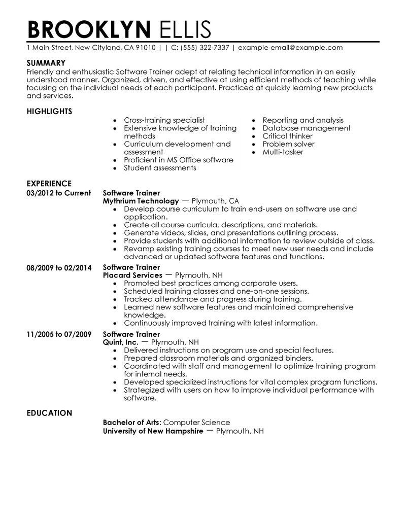 amazing it resume examples livecareer inside good professional home health aide objective Resume Home Health Aide Resume Examples