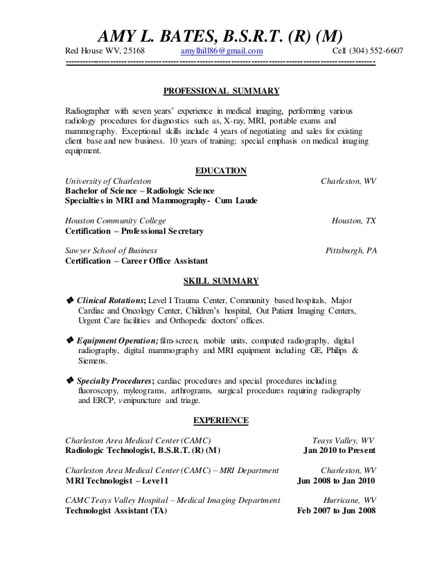amy resume mammography samples sample of email for sending work experience accountant Resume Mammography Resume Samples