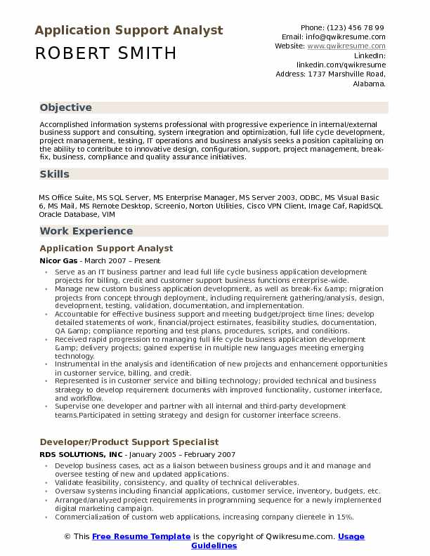 application support analyst resume samples qwikresume applying for an internal position Resume Applying For An Internal Position Resume Sample