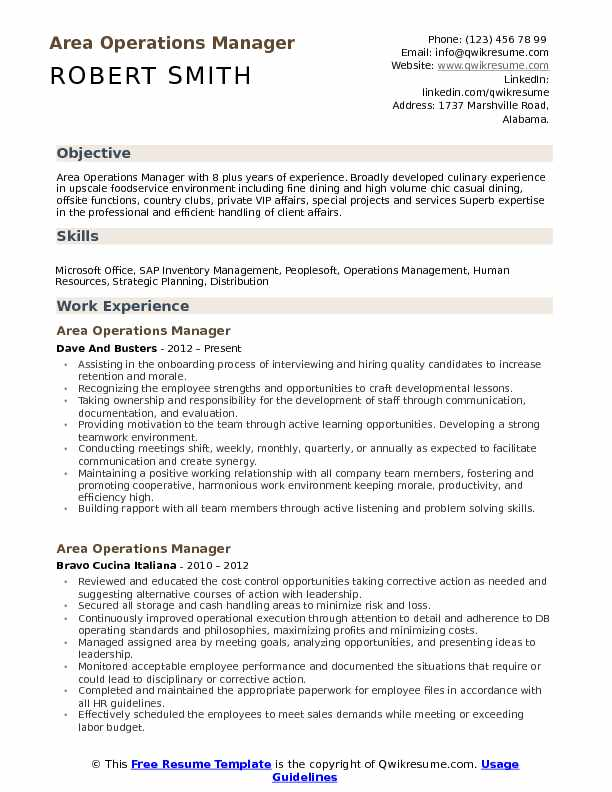 area operations manager resume samples qwikresume office pdf sapui5 format for first job Resume Office Operations Manager Resume