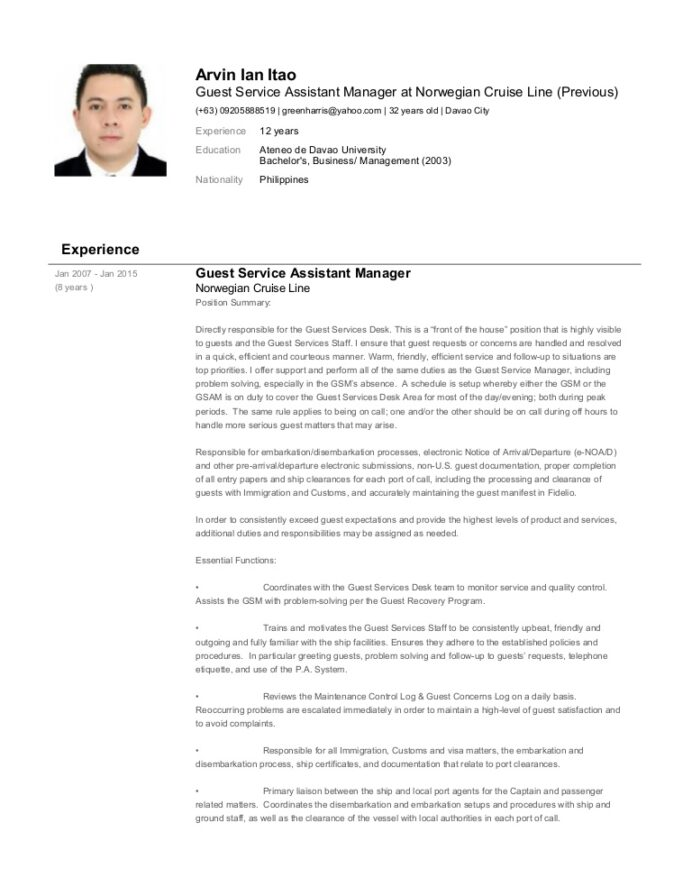 arvin ian itao resume immigration services assistant sample conversion gate02 thumbnail Resume Immigration Services Assistant Sample Resume