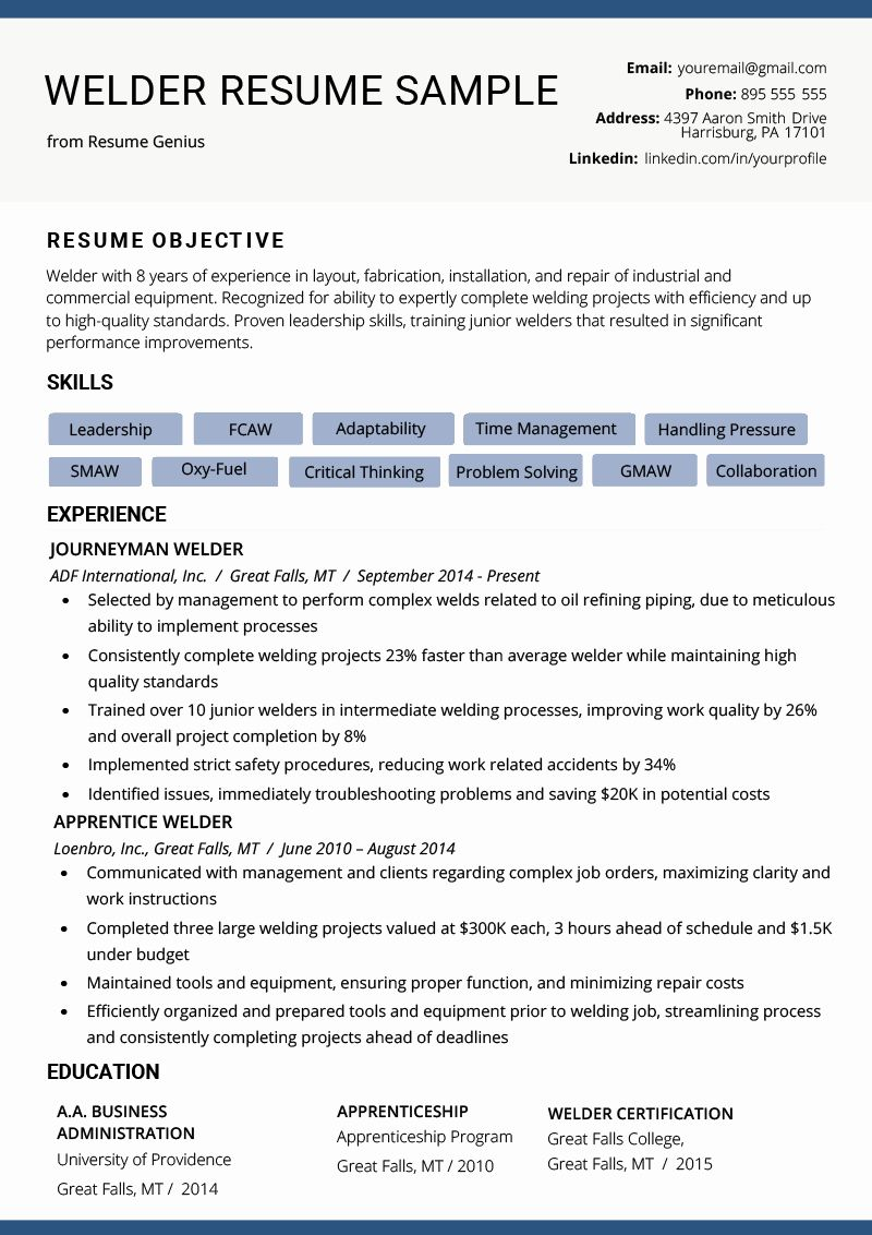 ask manager resume inspirational welder example writing tips examples format in word good Resume Ask A Manager Resume Example