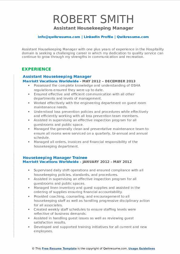 assistant housekeeping manager resume samples qwikresume cleaning service pdf external Resume Cleaning Service Manager Resume