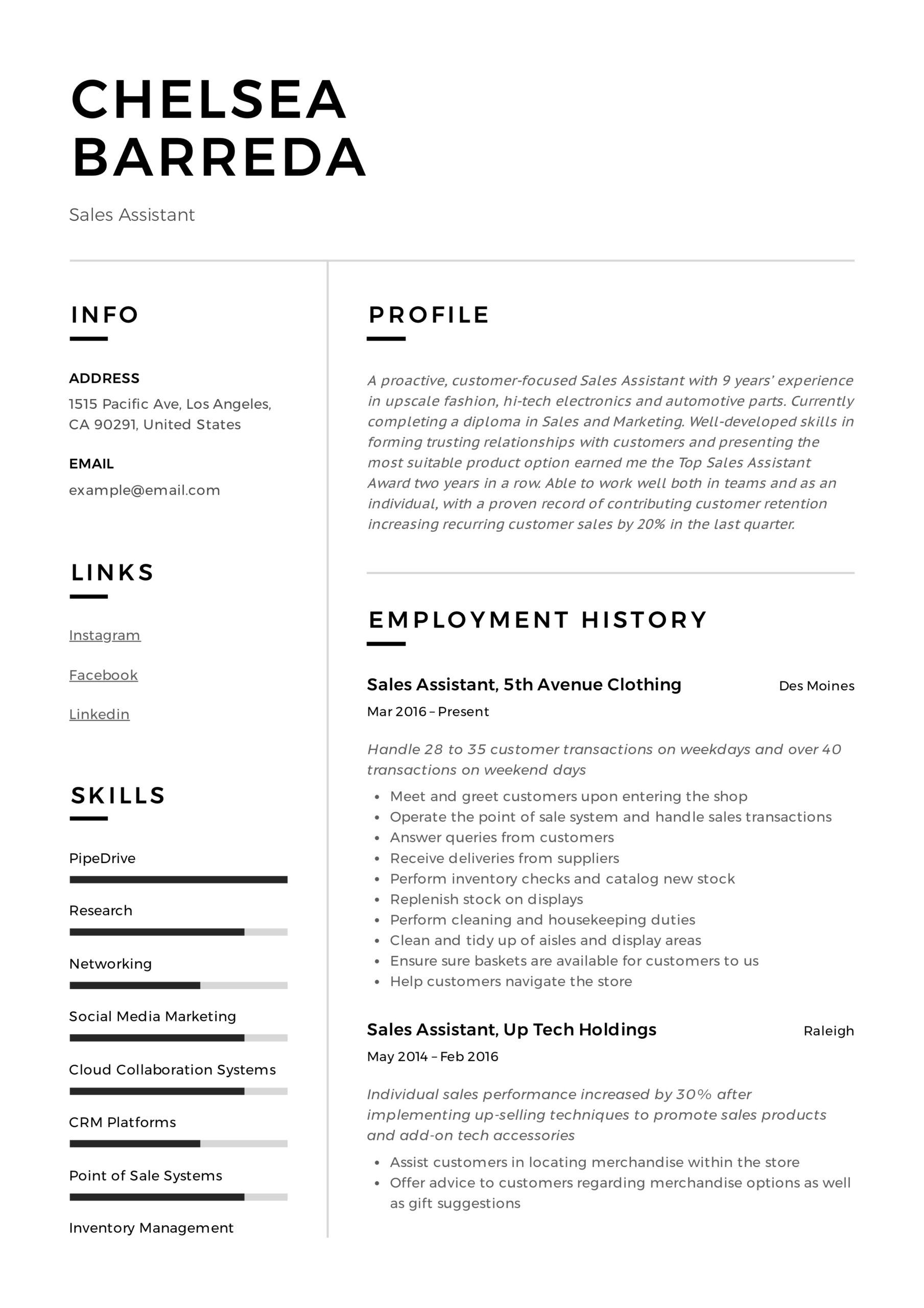 assistant resume writing guide resumeviking duties example genius cover sheet well Resume Assistant Duties Resume