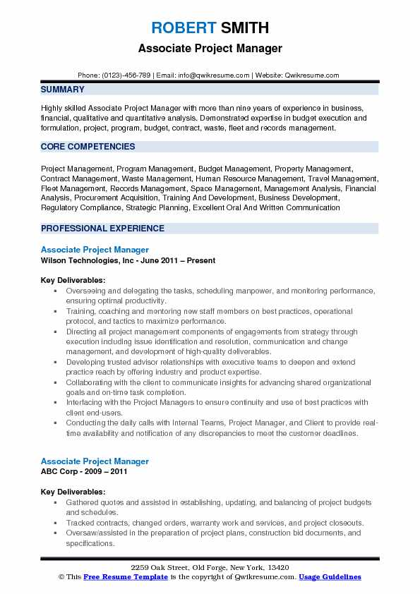 associate project manager resume samples qwikresume responsibilities pdf copy editor Resume Project Manager Responsibilities Resume