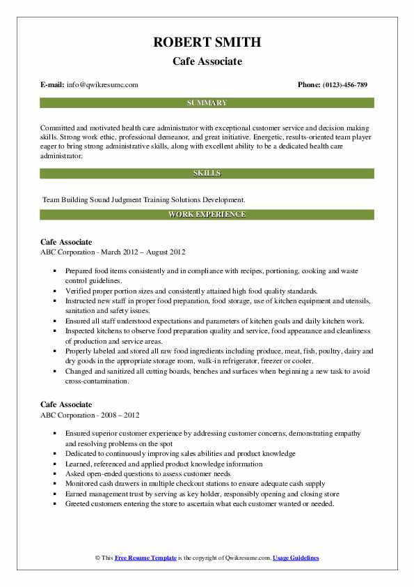associate resume samples qwikresume customer service pdf creative interior design Resume Cafe Customer Service Resume