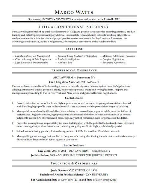 attorney resume sample monster best legal templates teen summary examples for warehouse Resume Best Legal Resume Templates