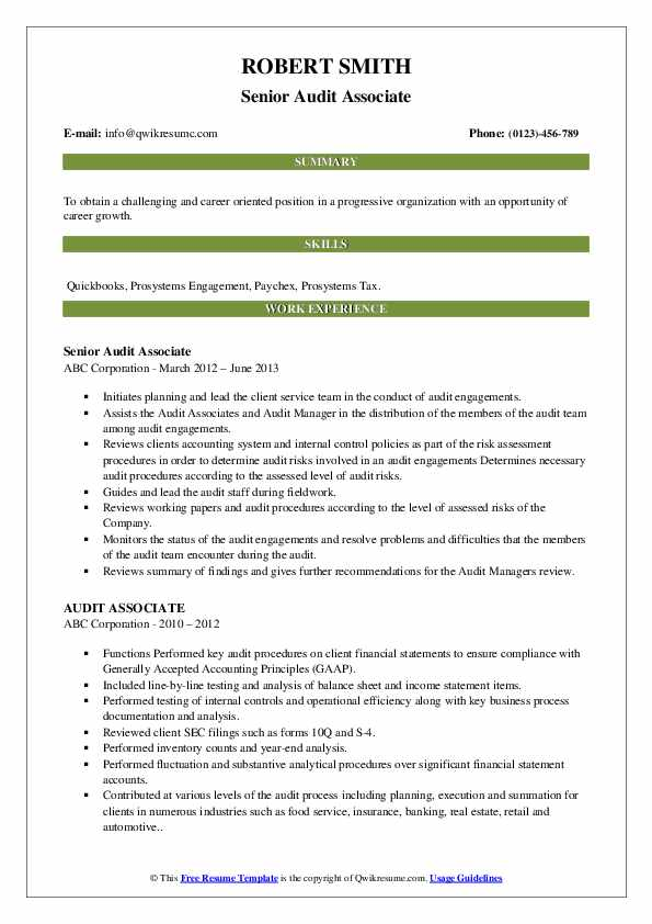 audit associate resume samples qwikresume experienced pdf dispatcher examples oil and gas Resume Experienced Audit Associate Resume