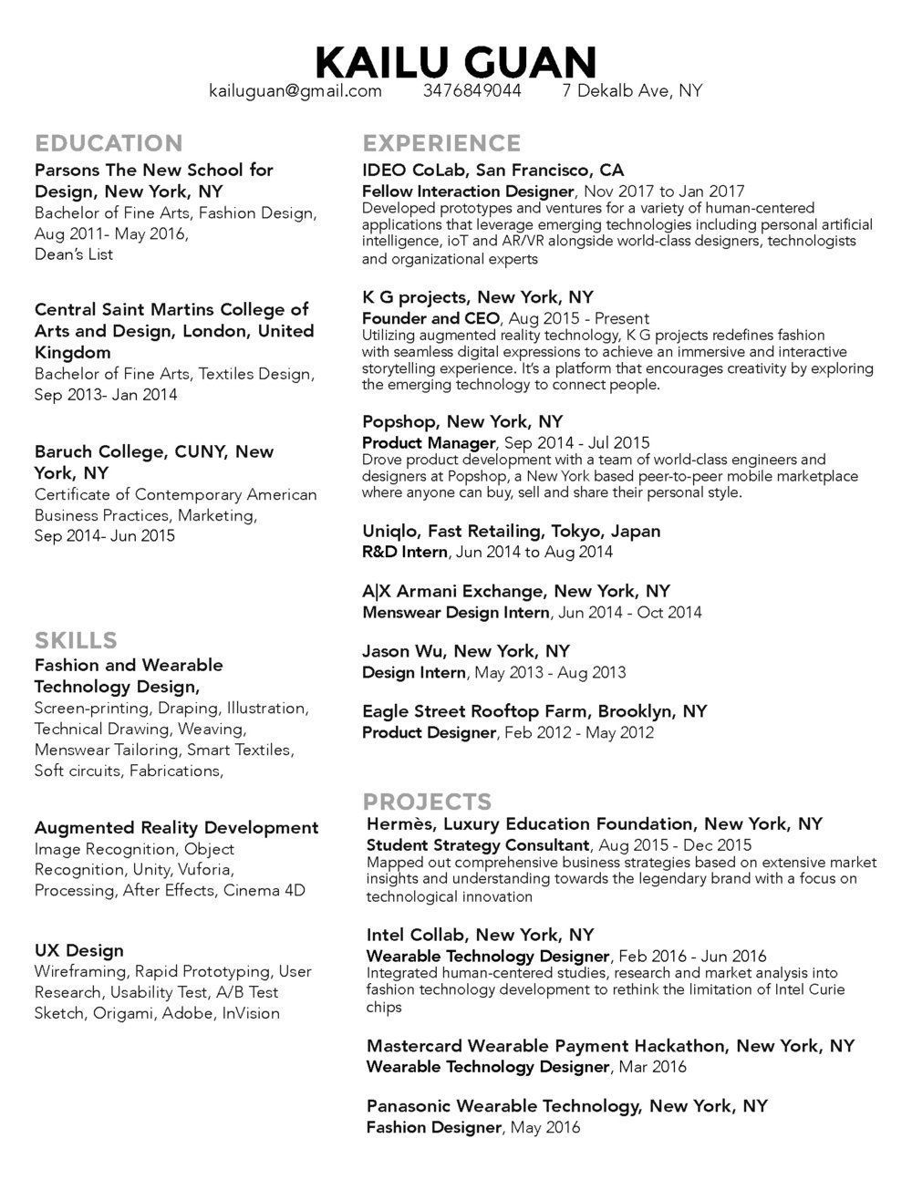 augmented reality resume entry level copywriter please see attached cardiac nurse sample Resume Augmented Reality Resume
