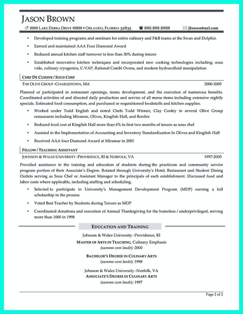 awesome chef resumes that impress your future company functional resume samples writer Resume Functional Resume Food Service Worker