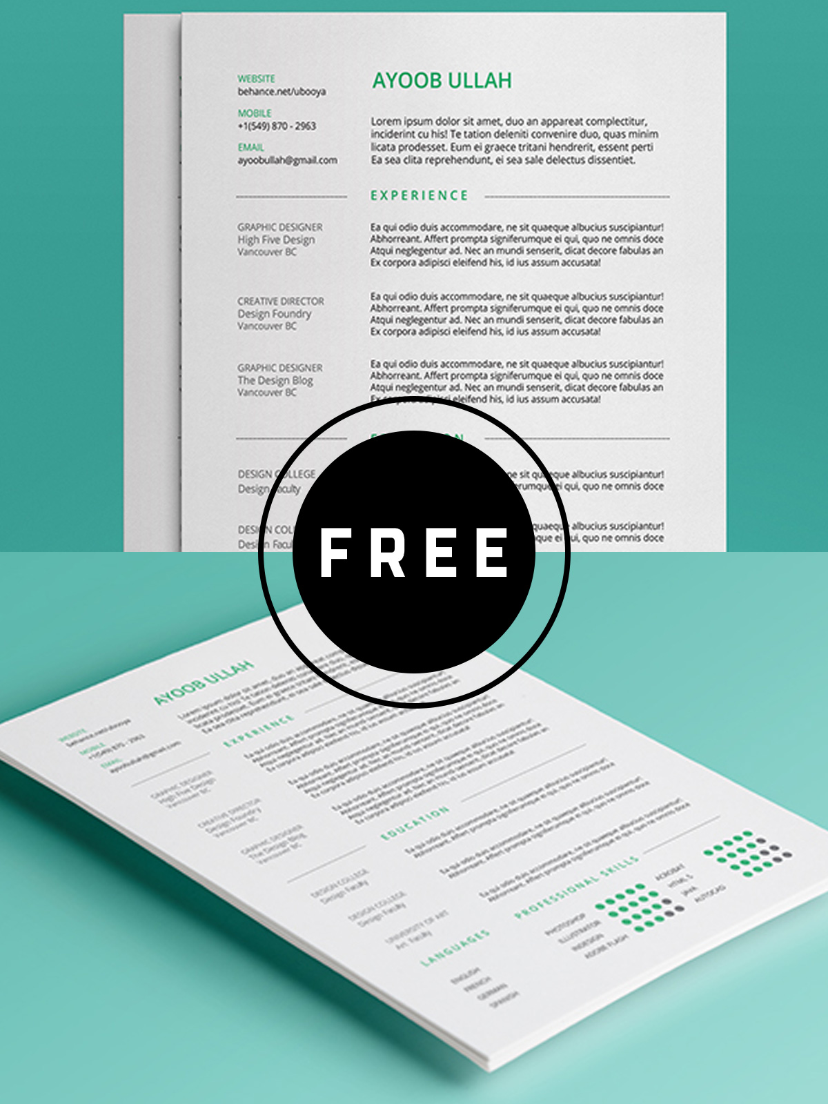 awesome free resume templates for creativetacos creative certified medical assistant Resume Free Creative Resume Templates 2019