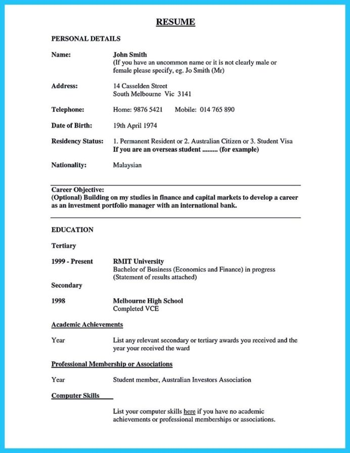 awesome one of recommended banking resume examples to learn make bank objective for Resume Resume For Permanent Resident