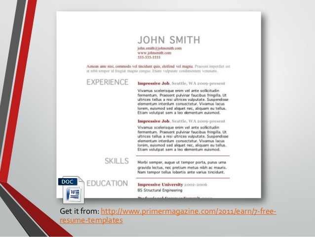 awesome templates that make your resume impressive primer magazine band sample does now Resume Primer Magazine Resume Templates