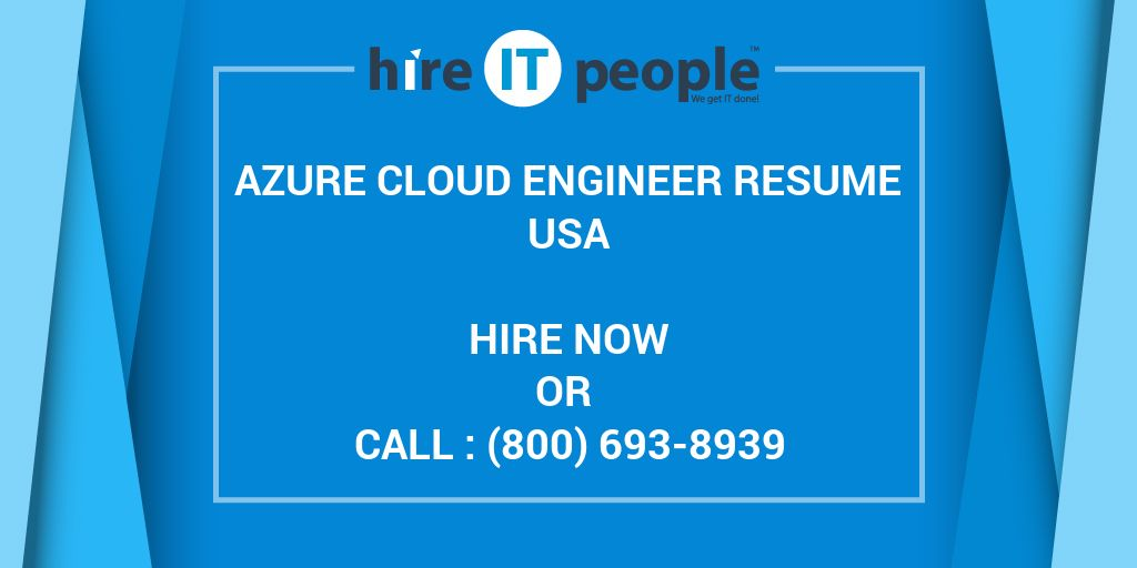 azure engineer resume hire it people we get done administrator sample skills for child Resume Cloud Administrator Resume Sample