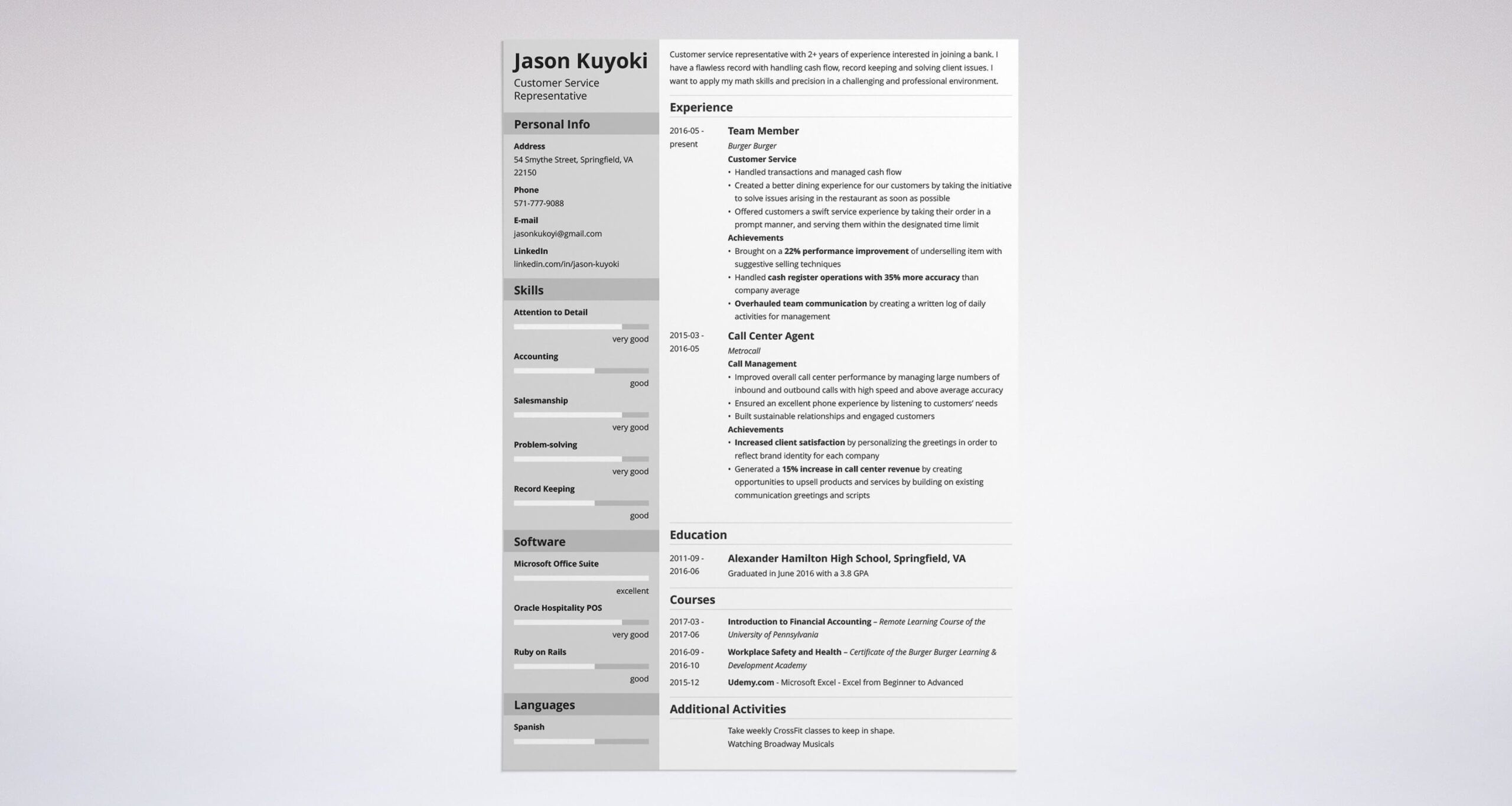 bank resume examples job description no experience format for freshers sample computer Resume Bank Resume Format For Freshers