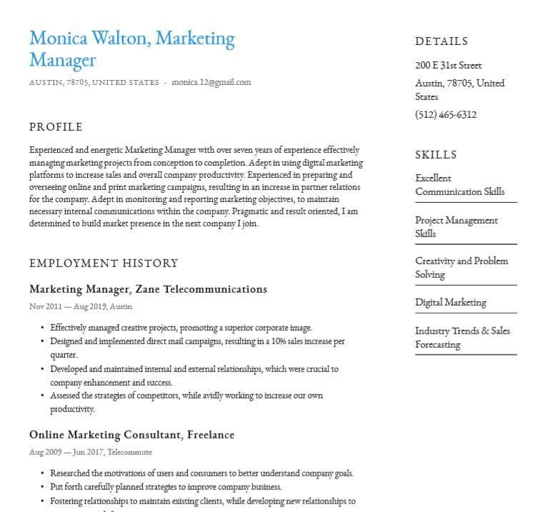 basic or simple resume templates word pdf for free io internal template customer service Resume Internal Resume Template