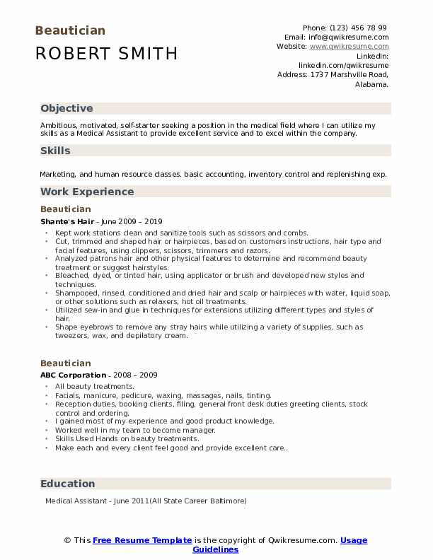 beautician resume samples qwikresume beauty parlour format pdf security guard example for Resume Beauty Parlour Resume Format