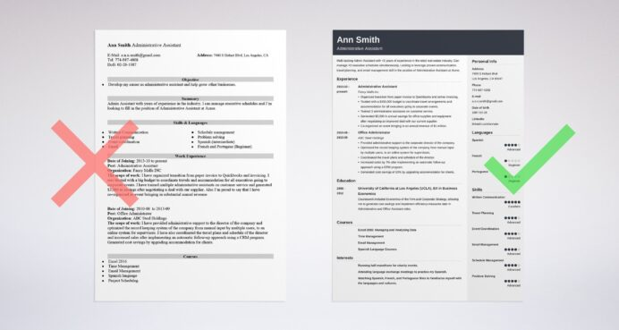 best administrative assistant resume examples admin format layouts that stand out law Resume Admin Assistant Resume Format