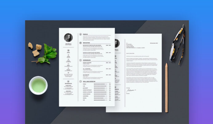best contemporary resume cv templates new modern styles for the step elements4 Resume The 24 Step Modern Resume