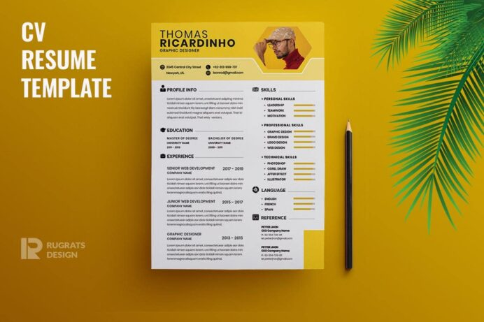 best cv resume templates theme creative examples objective for scholarship corporate Resume Creative Resume Examples 2021