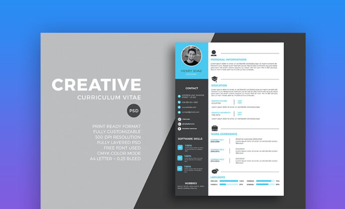 best free modern resume templates clean cv design formats designs paper for and cover Resume Best Resume Designs 2021