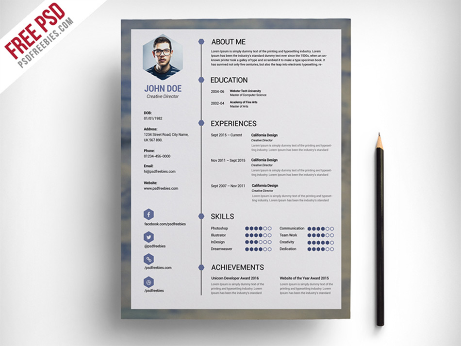 best free resume templates for designers awesome blue template guest services simple Resume Awesome Resume Templates