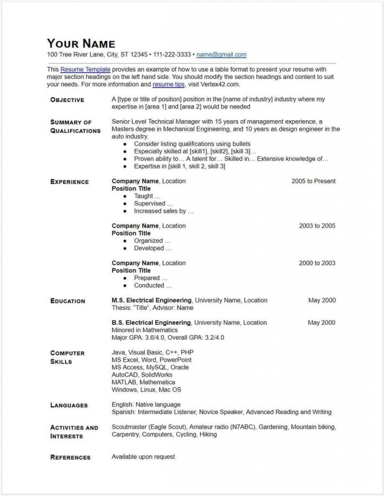 best google docs resume templates and to use them simple cv template 792x1024 service Resume Simple Resume Google Docs