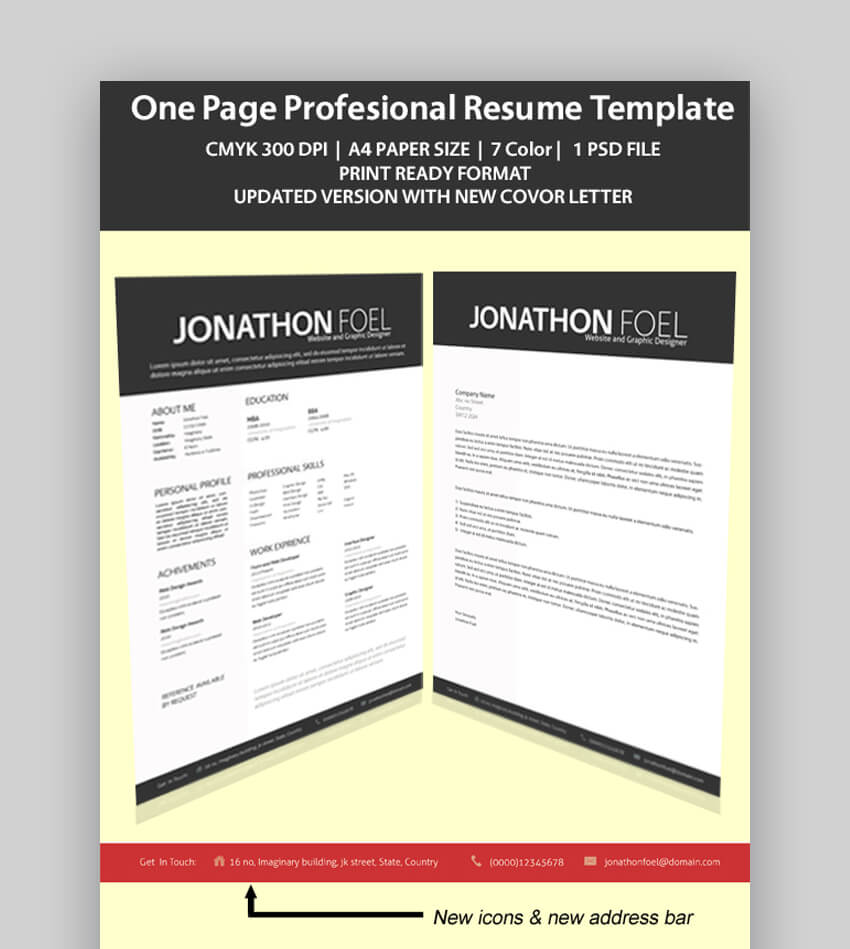 best one resume templates simple to use format examples microsoft word template Resume Microsoft Word One Page Resume Template
