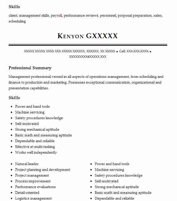 best operations manager resume example livecareer summary japanese computer perfect Resume Operations Manager Summary Resume