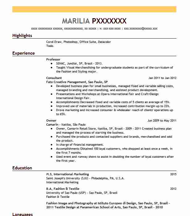 best professor resume example livecareer format for lecturer post public relations sample Resume Resume Format For Lecturer Post