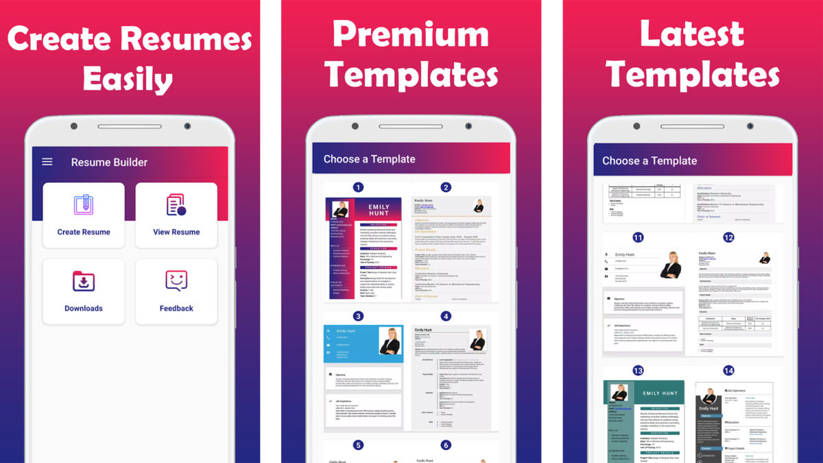 best resume builder apps for android authority free ipad cv maker screenshot 1200x675 Resume Free Resume Builder Ipad