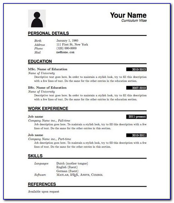 best resume format for freshers computer science engineers free pdf vincegray2014 basic Resume Resume Format For Freshers Engineers Computer Science