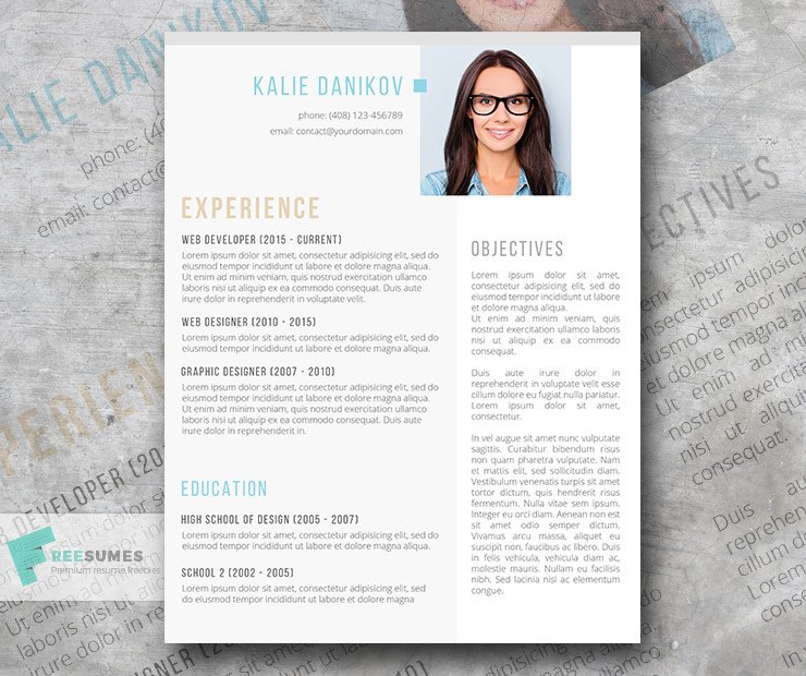 best resume templates to and start sending out today freesumes free template with Resume Free Resume Template With Headshot