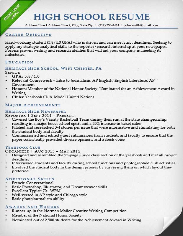 best student sample resume templates wisestep high school graduate for college example Resume High School Graduate Resume For College