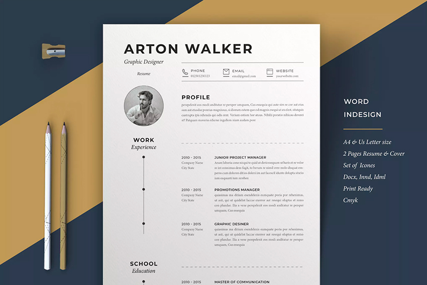 best web graphic designer resume cv templates examples for professional design airton on Resume Professional Graphic Design Resume