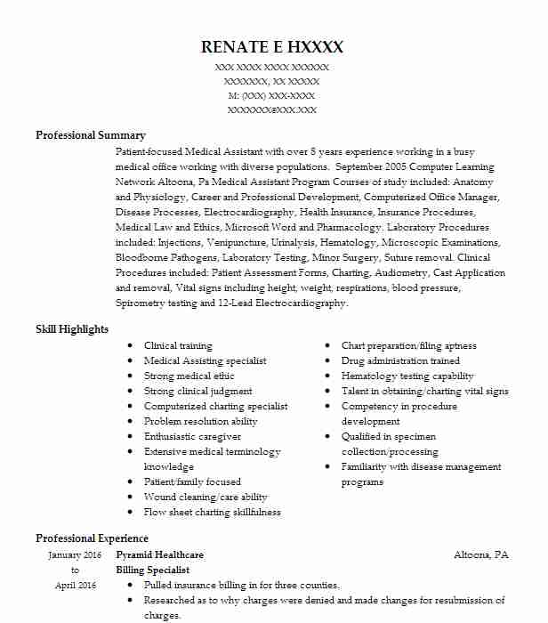 billing specialist resume example accountant resumes livecareer medical and collections Resume Medical Billing And Collections Specialist Resume