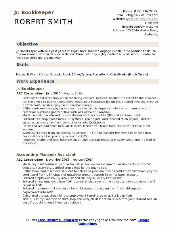 bookkeeper resume samples qwikresume pdf entry level anthropology risk consultant coding Resume Bookkeeper Resume Samples