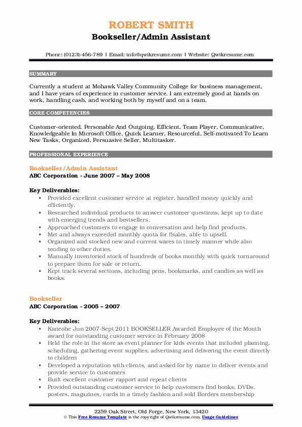 bookseller resume samples qwikresume nerd contact number pdf quantifying examples Resume Resume Nerd Contact Number