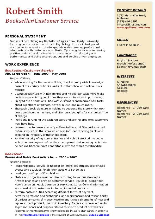 bookseller resume samples qwikresume nerd contact number pdf sample email for submission Resume Resume Nerd Contact Number